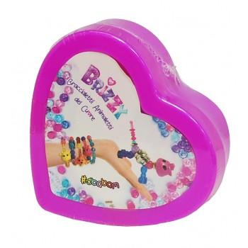 Браслет-питомец в шкатулке сердце 2499-0191