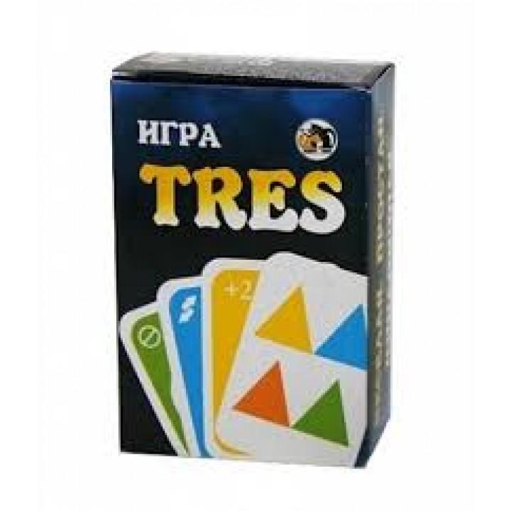 Карточная игра TRES (аналог УНО)