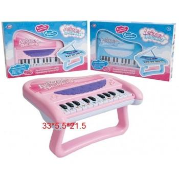 Пианино детское на бат. в коробке