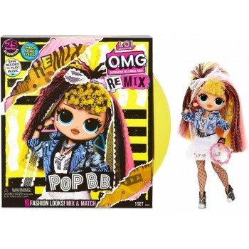 Игрушка L.O.L. OMG Remix - Pop B.B.