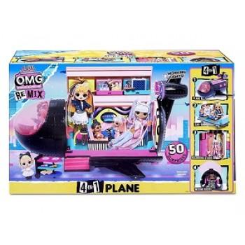 Игрушка L.O.L. Самолет-трансфорер OMG Remix ориг.