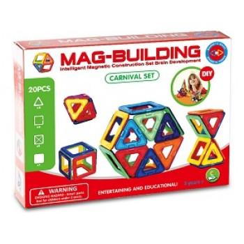 Магнитный конструктор Mag-building 20 дет.