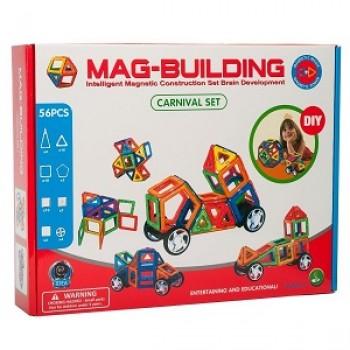 Магнитный конструктор Mag-building 56 дет.