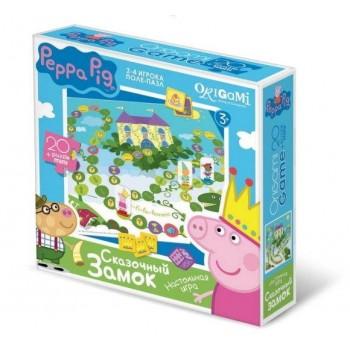 Настольная игра Peppa Pig поле-пазл Сказочный замок
