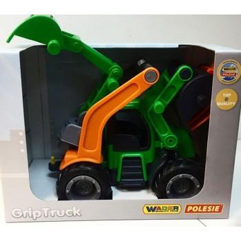 ГрипТрактор Трактор-погрузчик с ковшом Полесье