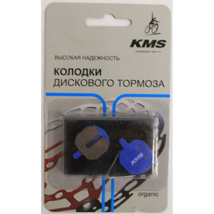 Колодки дискового тормоза 3125322 KMS, цвет голубой