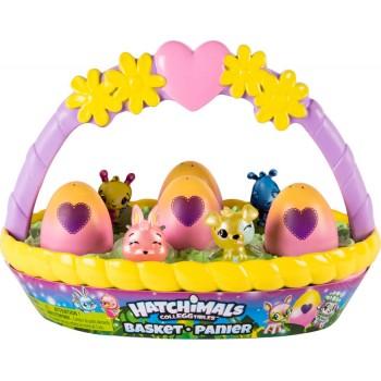 Игровой набор с фигурками Hatchimals Весенняя корзина
