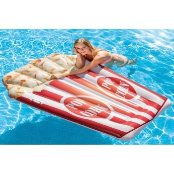 Матрас надувной для плавания Попкорн 178х124см