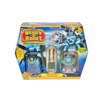 Игрушка Ready2Robot Две капсулы (в т.ч. Сокрушитель) и оружие, кор.