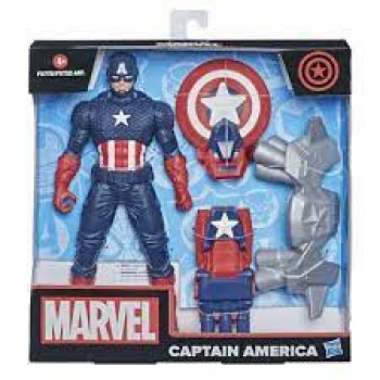 Супергерой Капитан Америка с аксессуарами 24 см Hasbro