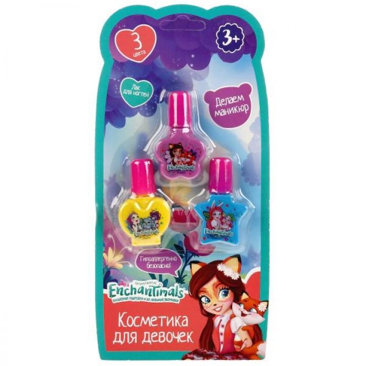 Косметика для девочек Энчантималс лак для ногтей Играем Вместе