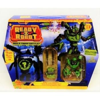 Игрушка Ready2Robot Две капсулы и оружие 4 в асс.