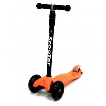 Самокат Scooter  SK-063 ( Аналог SK-003 без складной ручки) оранжевый