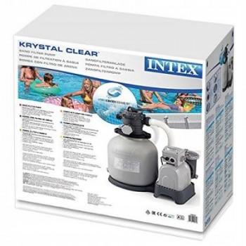 Насос-фильтр песочный 10 м3/час Intex