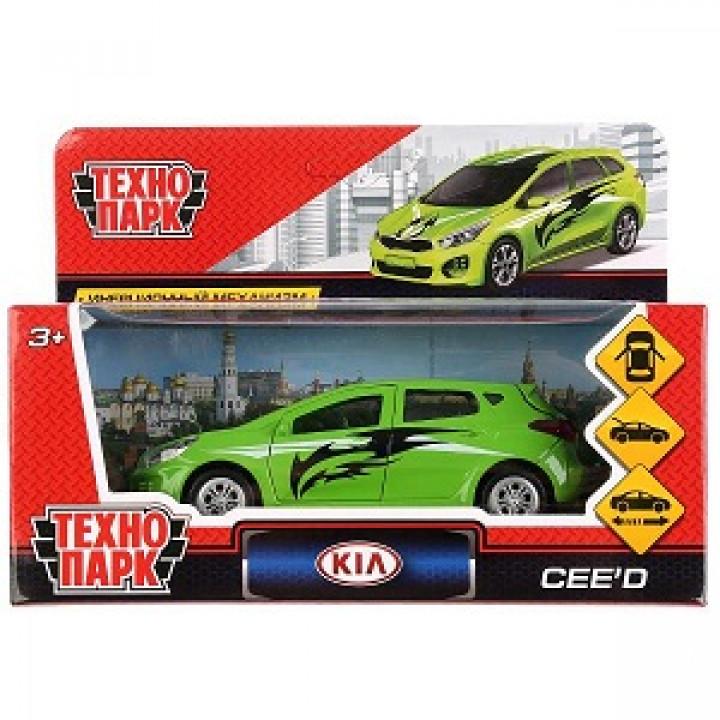 Машина Технопарк Kia Ceed-Sport, металл, инерция