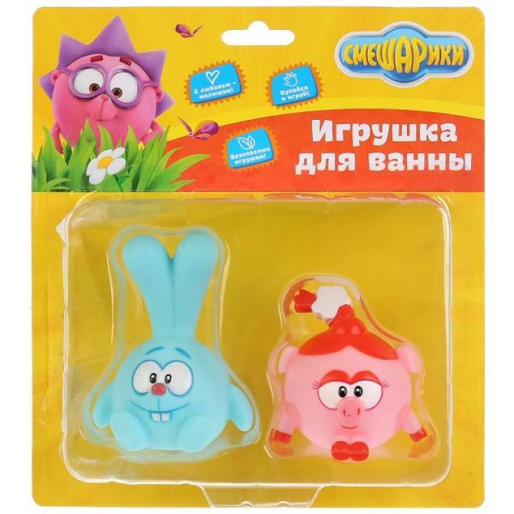 Игрушка для ванны Смешарики Крош и Нюша Капитошка