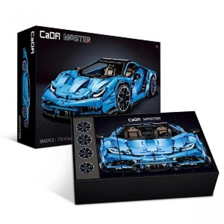 Конструктор CaDa Lamborghini Centenario 770-4 3842 дет. C61041W