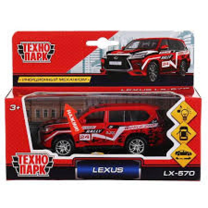 "Машина металл свет-звук ""LEXUS LX-570 СПОРТ""12см,открыв.двери"