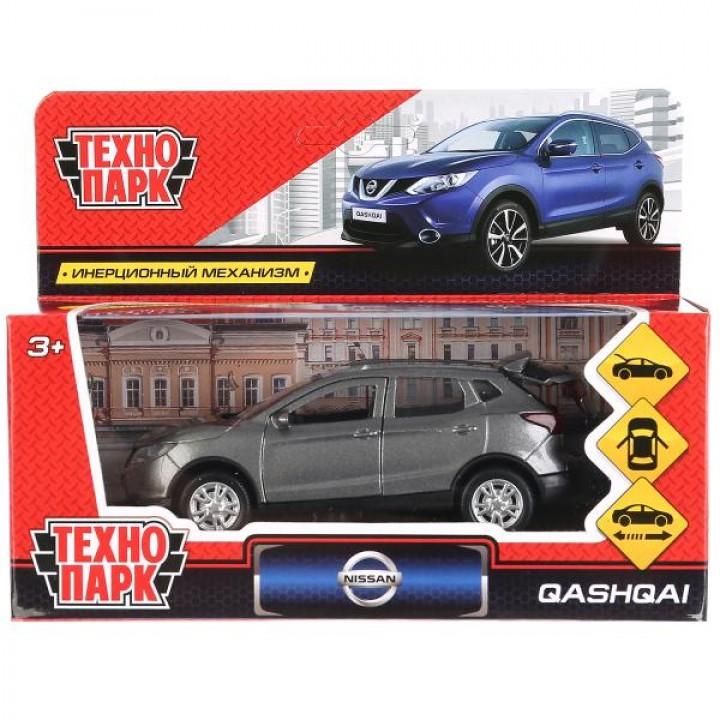 Технопарк Nissan Qashqai 12см металл.инерц.серый 263448