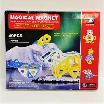 Магнитный конструктор 40 дет.
