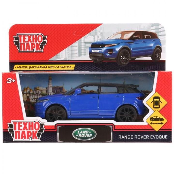 Машина Range Rover Evoque синий Технопарк