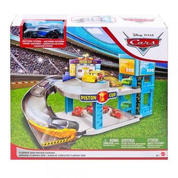 """Игровой набор """"Флорида 500 Гоночный гараж"""" Cars Disney FWL70"""