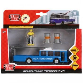 Троллейбус Техпомощь с фигуркой и аксессуарами