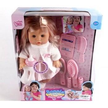 Кукла Bonnie с аксесс.(7 предметов) на бат.(звук)