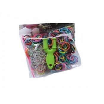 Набор Цветные резиночки(300 рез,12 крючков,спица,рогатка)