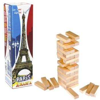 Настольная игра Джанга Башня Париж 54 блока