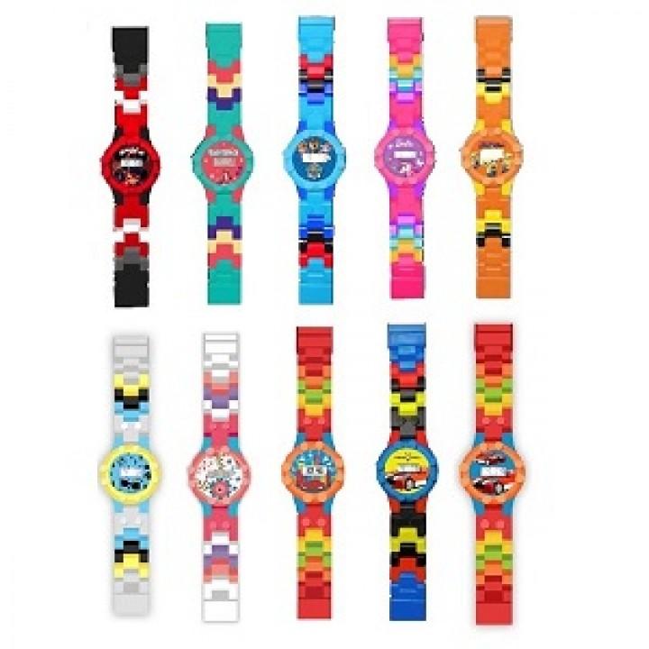 Часы-конструктор совместимые с LEGO