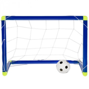 Набор для игры в футбол, ворота 51х23х36см, мяч 10см, насос LT-05A1 в кор. в кор.60шт