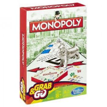 Настольная игра дорожная Монополия Hasbro