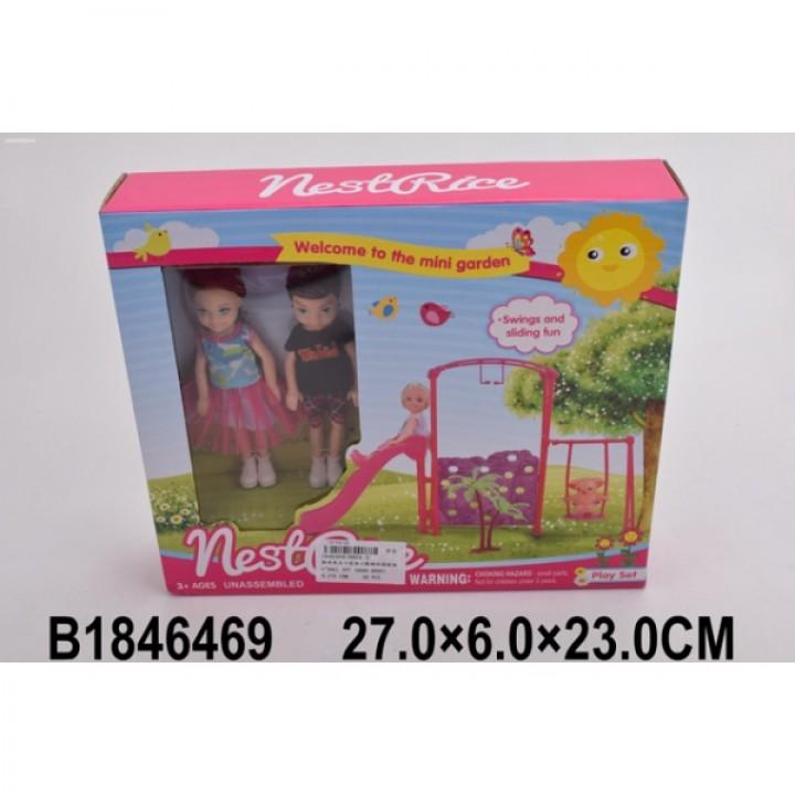 305198   Мебель для кукол, с куклами в кор. в кор.2*30шт