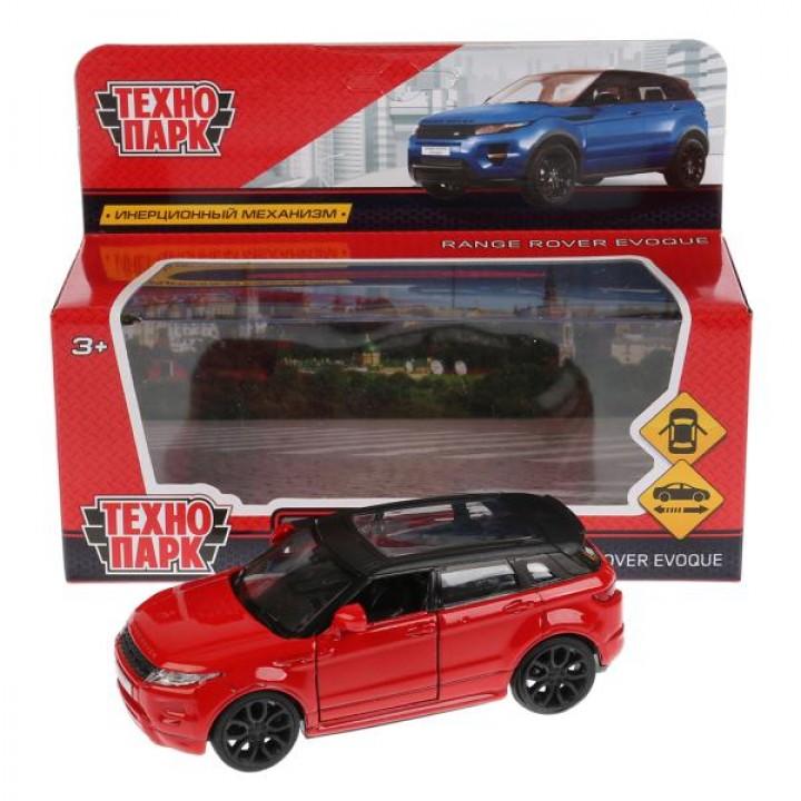 Машина металл LAND ROVER RANGE ROVER EVOQUE 12,5см,открыв двери,инерц, красный Технопарк в