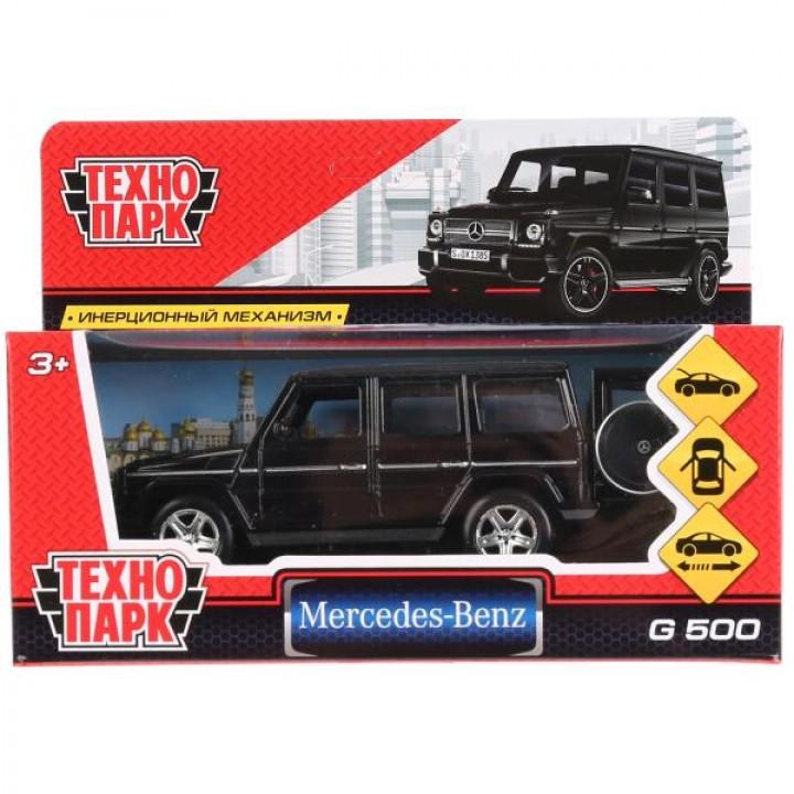 """Машина металл """"MERCEDES-BENZ G-CLASS"""" 12см, открыв двери, инерц, черный в кор Технопарк в к"""