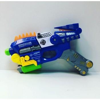 Пистолет Динозавр на бат.