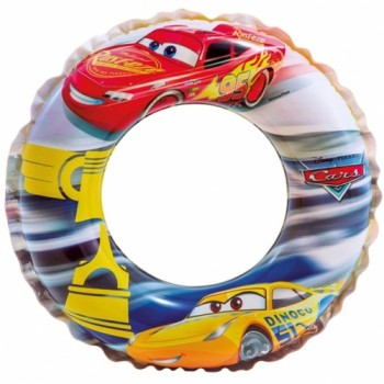 Надувной круг для плавания Тачки (3-6 лет)