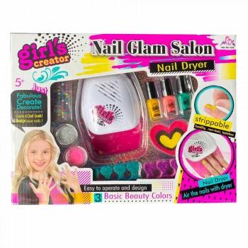 Набор детской косметики для маникюра с прибором для сушки ногтей Girls Creator MBК-326