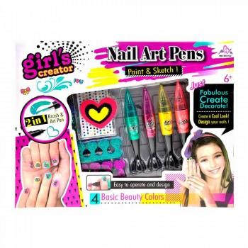 Набор детской косметики для маникюра 2 в 1 Girls Creator MBК-328