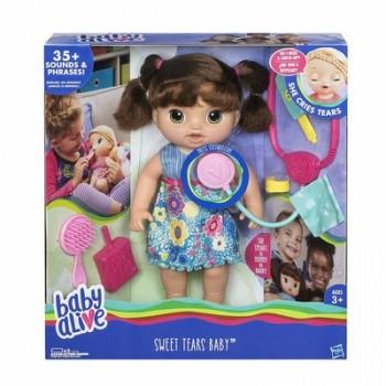 Кукла Малышка у врача Брюнетка