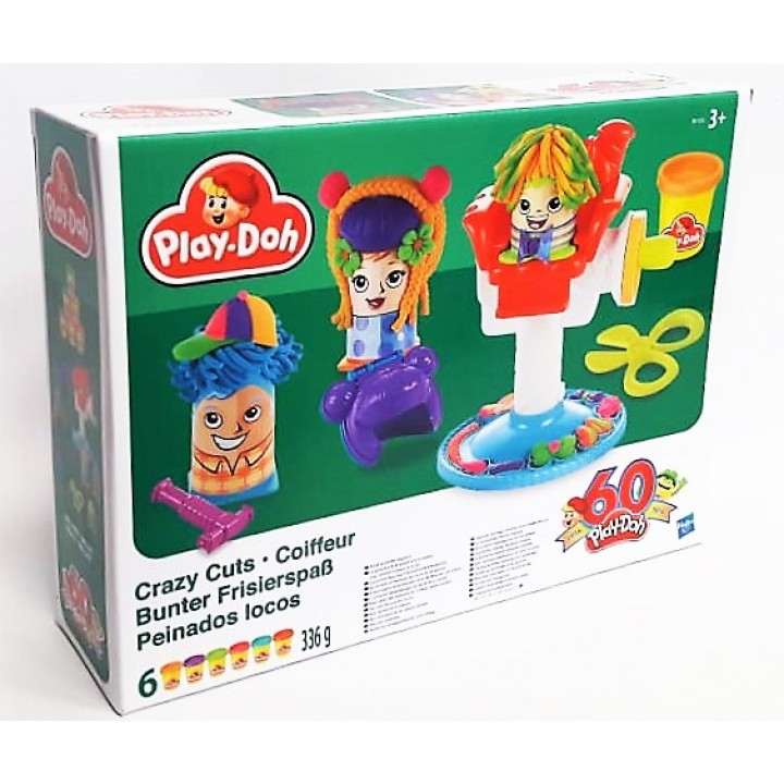 Play-Doh Crazy Cuts Сумасшедшие прически