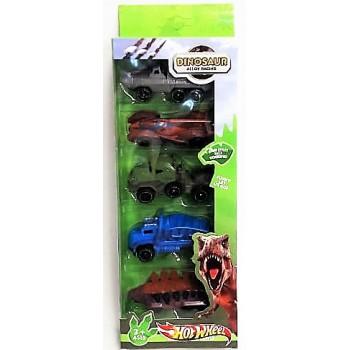 Машина  Динозавр набор из 5 шт.
