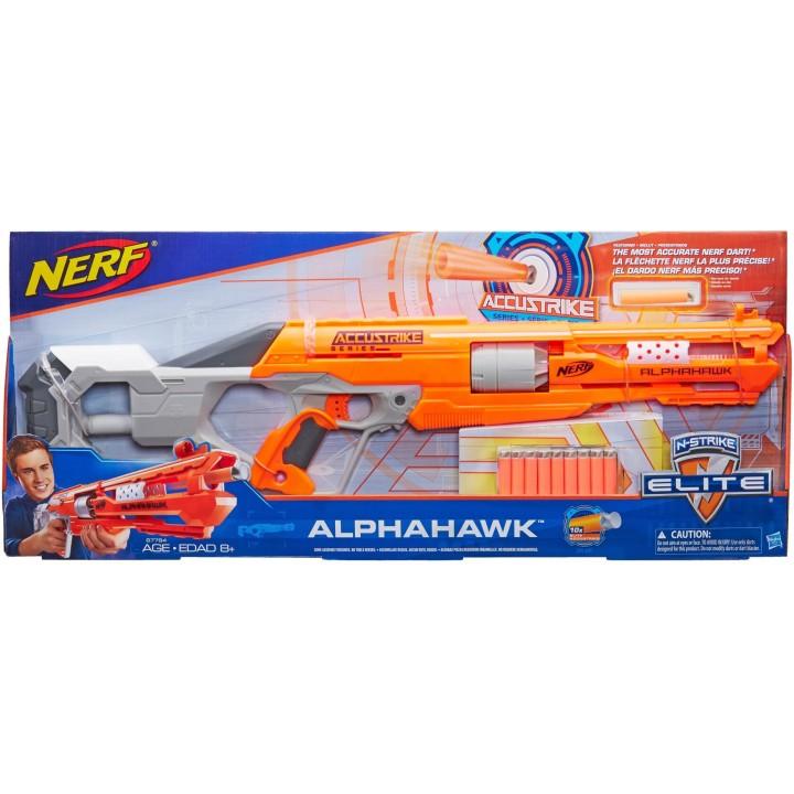 Бластер Nerf со снарядами ALphahawk