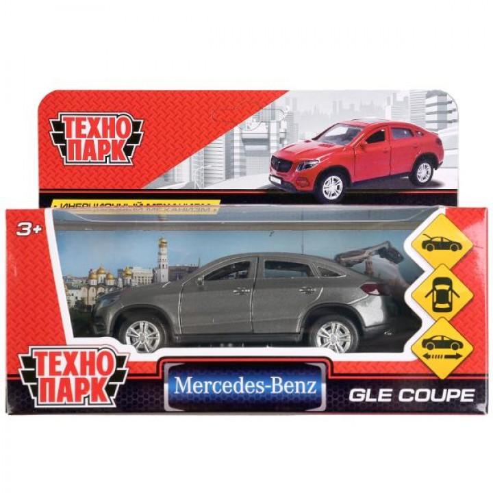 "Машина металл ""MERCEDES-BENZ GLE COUPE"" 12см, открыв. двери, инерц, СЕРЫЙ ТМ Технопарк."