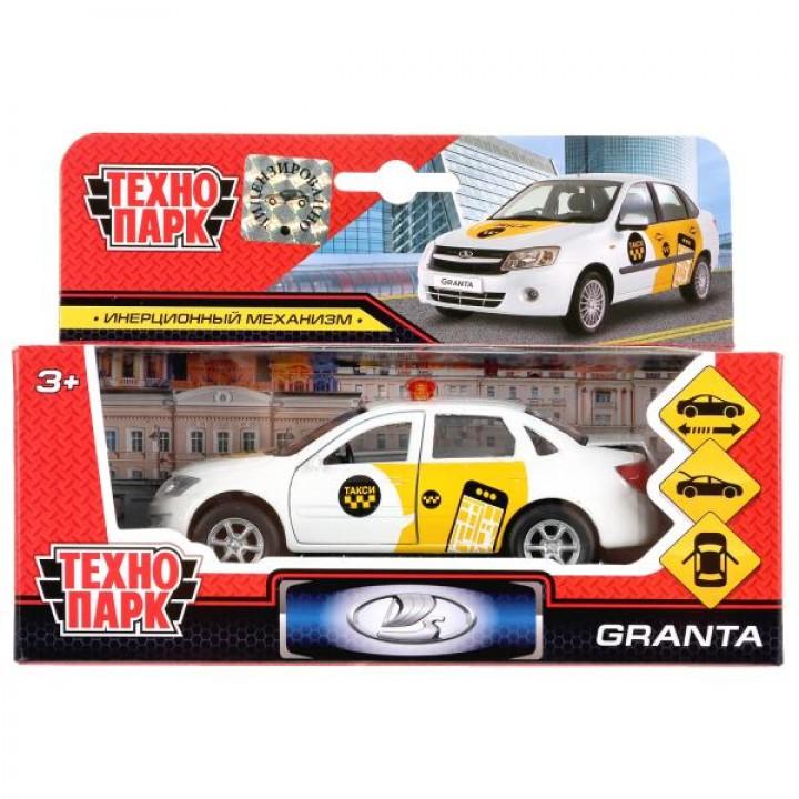 298517   Машина металл LADA Granta такси 12см, инерц., открыв. двери и багажник в кор. Технопарк в к