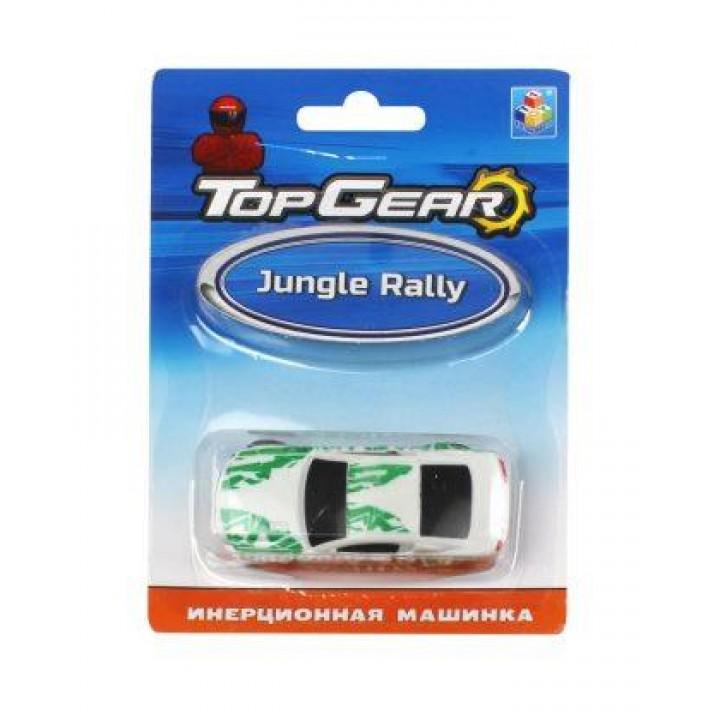 Машинка Top Gear пласт. 1toy, Jungle Rally, инерц. блистер