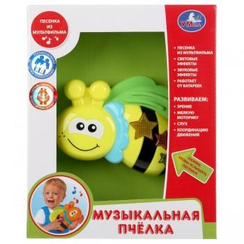 Музыкальная игрушка Пчелка печни, стихи, свет Умка