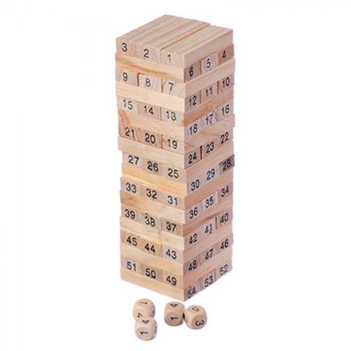 Настольная игра Падающая башня дерево