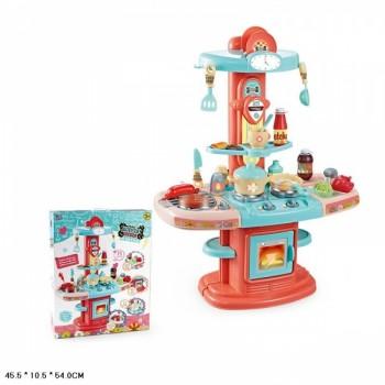Игровой набор Кухня на бат. со светом 24 предмета